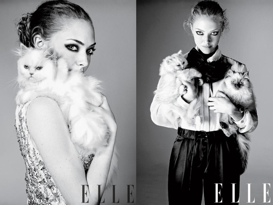 Amanda Seyfried Elle Magazine