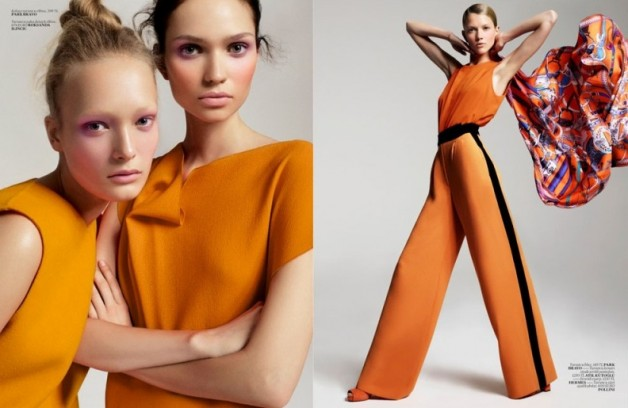 Fall Color Trends in Fashion 2011
