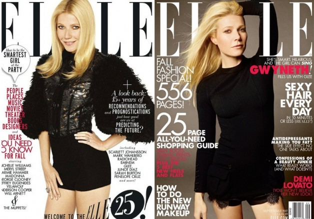 Gwenyth Paltrow for Elle Magazine