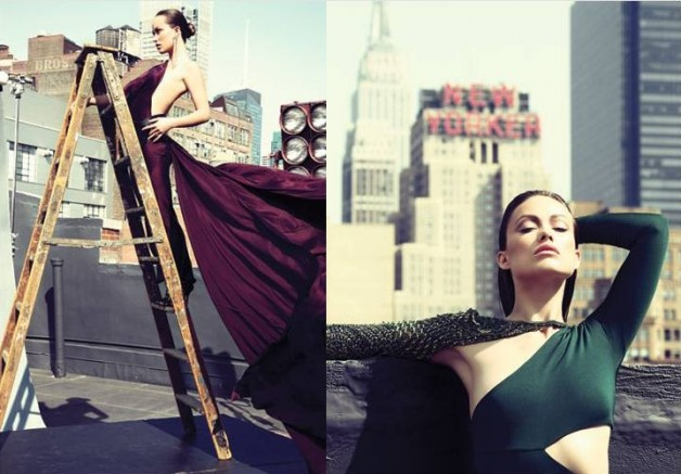 Olivia Wilde in Pucci Dress for Marie Clarie