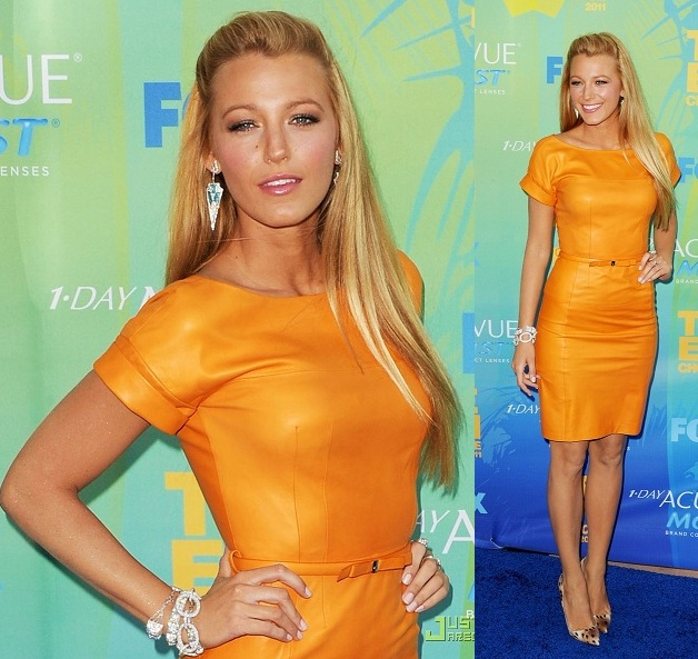 Blake Lively at the Teen Choice Awards 2011