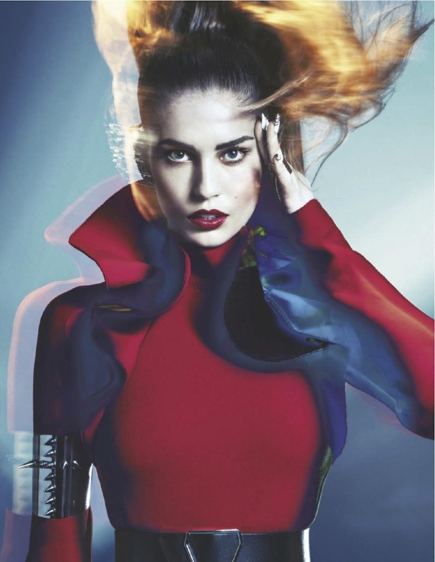 Nadja Bender Electric Lady By Sebastian Kim For Numero 2