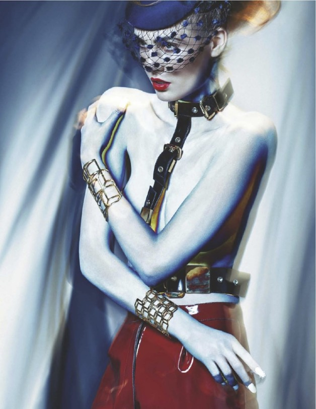 Nadja Bender Electric Lady By Sebastian Kim For Numero 5