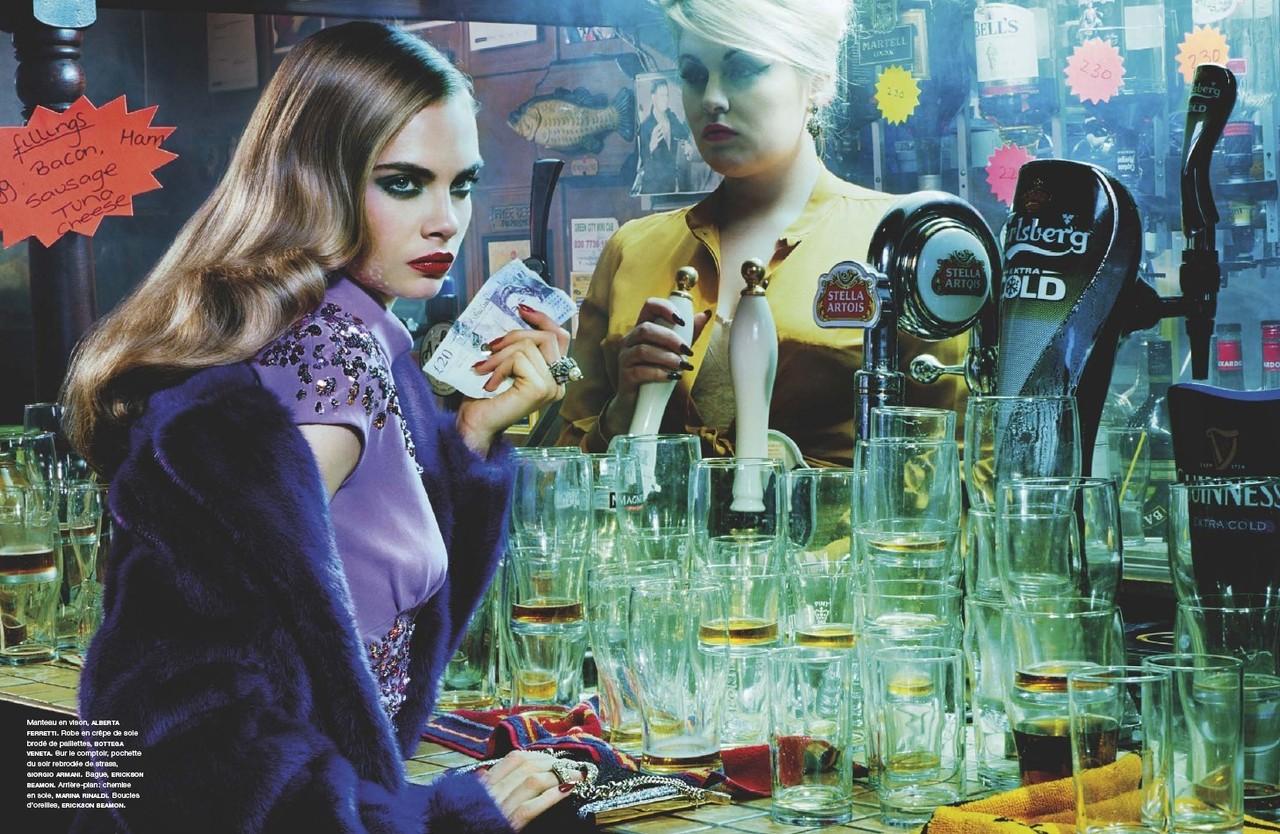 Cara Delevingne & Paolo Anchisi 'Take Manhattan' in ... Cara Delevingne And Paolo Anchisi