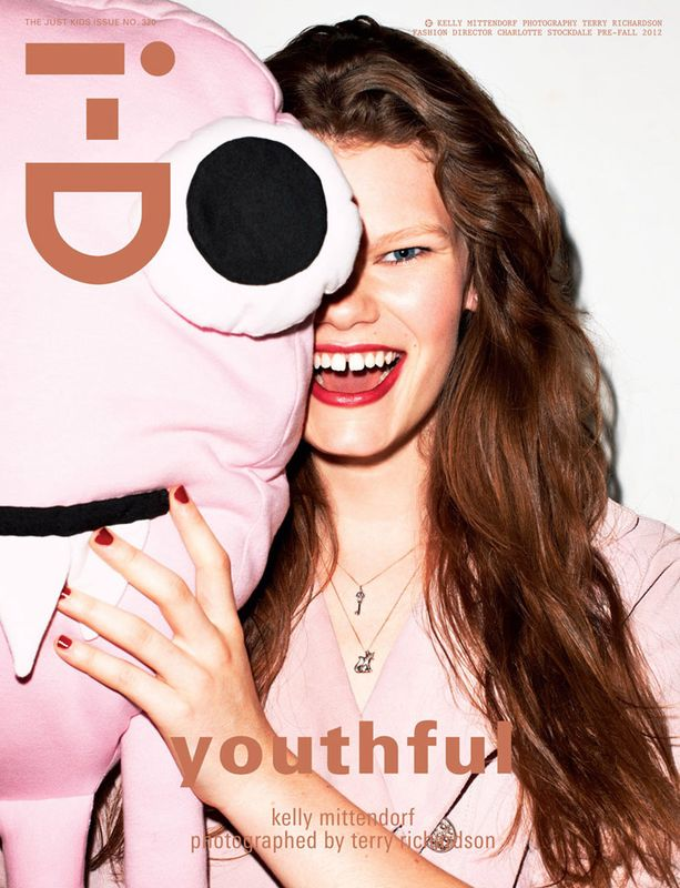 cover i-d magazine youthful issue