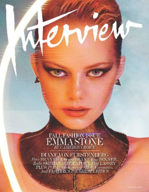 emma stone interview magazine cover