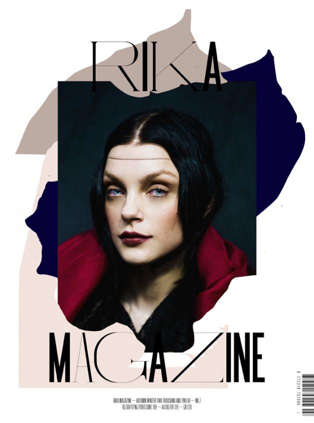 JessicaStamRikaMagazineF/W2012