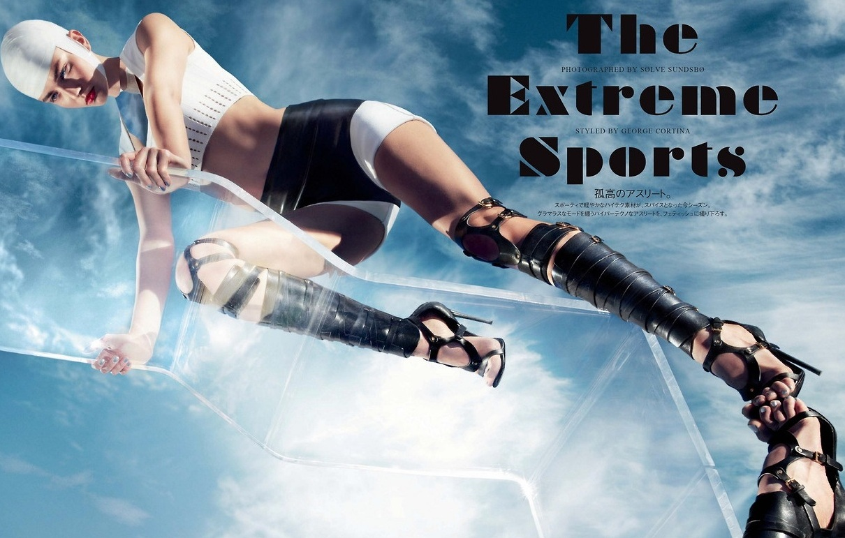 AndreeaDiaconuin'TheExtremeSports'bySølveSundsbøVogueJapan