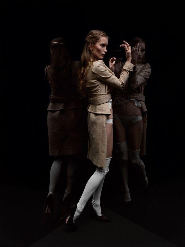 IekelieneStange'Re-fashionFetishism'byMaxSnowPurpleMagazineS/S2013