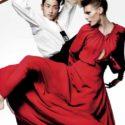 Edita Vilkeviciute Stars in 'Asia Major' by Mario Testino for V Magazine 4