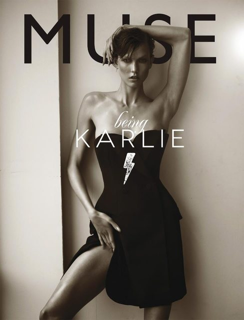 Karlie Kloss by Mariano Vivanco Muse Magazine Cover Shot