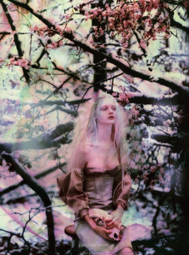 Nastya Kusakina by Jeff Bark for Dazed & Confused March 2013