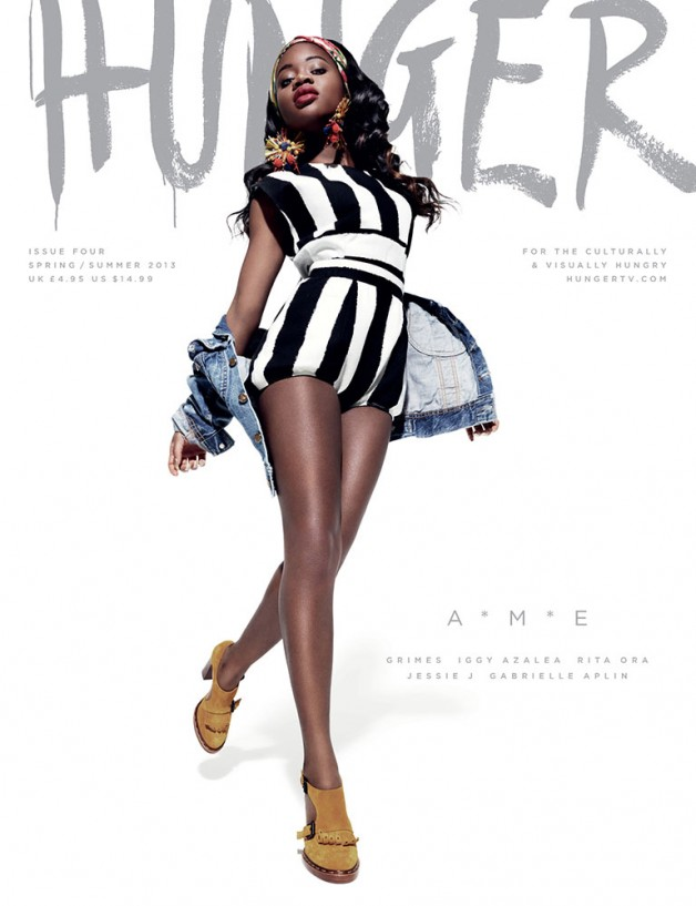 Hunger Magazine Cover SS 2013 1