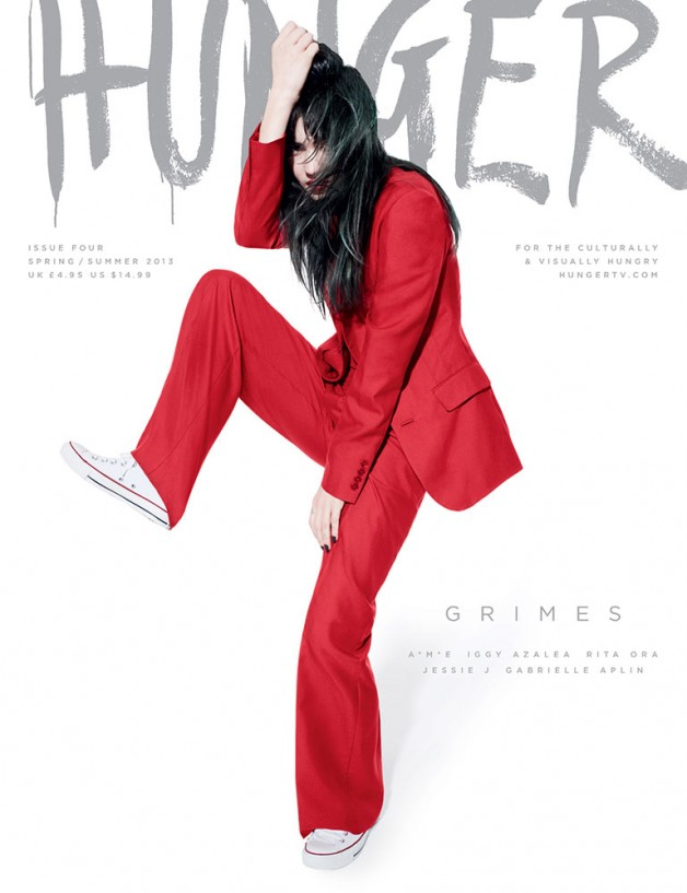 Hunger Magazine Cover SS 2013 4