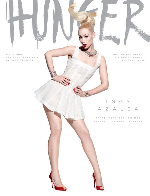 Hunger Magazine Cover SS 2013 6