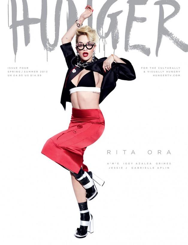 Hunger Magazine Cover SS 2013 7
