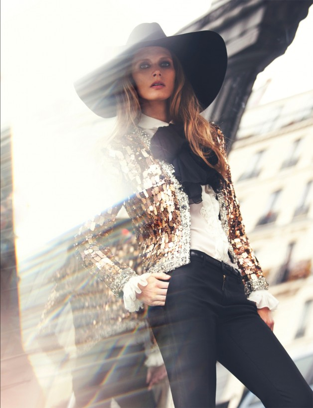 Malgosia Bela by David Bellemere (Saint Laurent - Muse #33 Spring 2013) 2