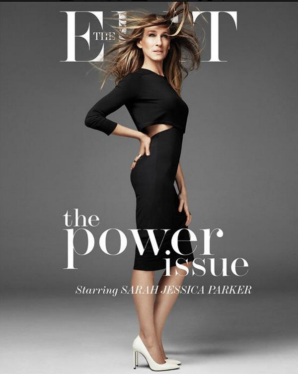 Sarah Jessica Parker Edit Magazine Cover