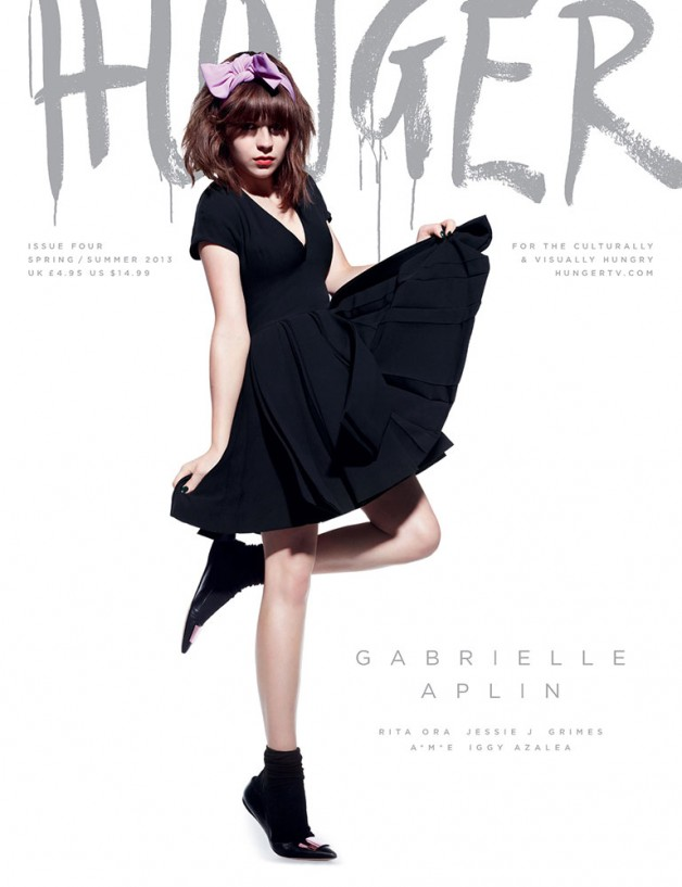 hunger magazine cover ss 2013