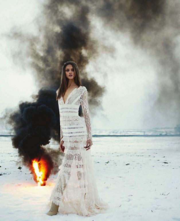 Anna Selezneva 'Ritual' Numero Magazine 2