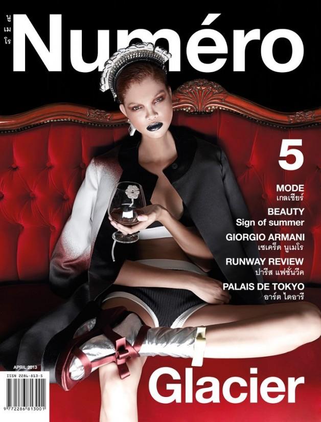Carmen Solomons for Numero Thailand Cover