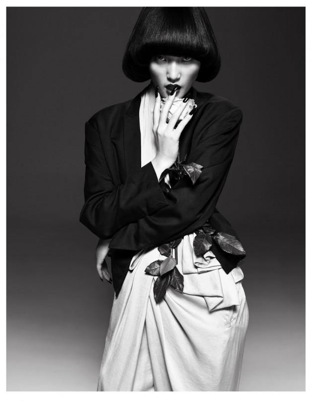 Lina Zhang by Yin Chao (The Gentle Woman - Harper's Bazaar China April 2013) 2