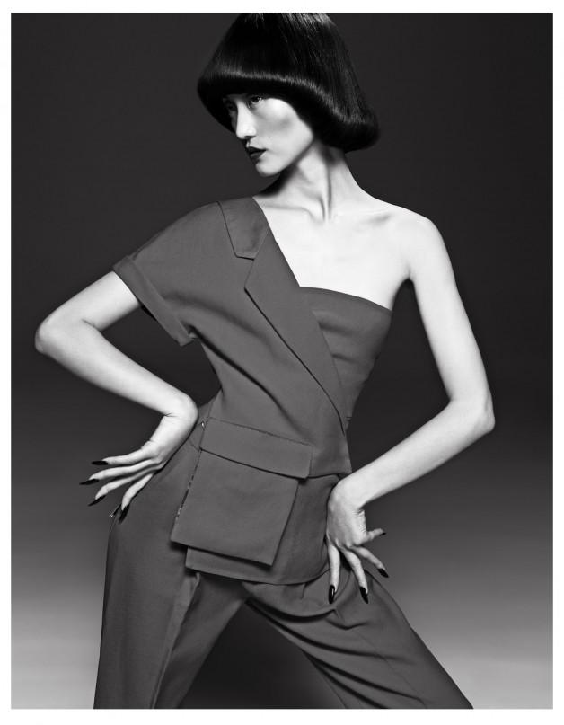 Lina Zhang by Yin Chao (The Gentle Woman - Harper's Bazaar China April 2013) 3