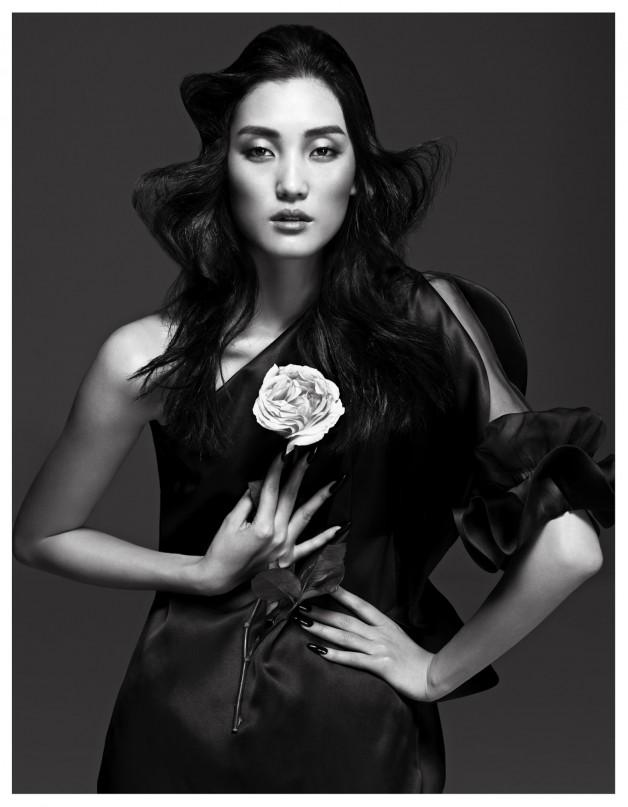 Lina Zhang by Yin Chao (The Gentle Woman - Harper's Bazaar China April 2013) 5