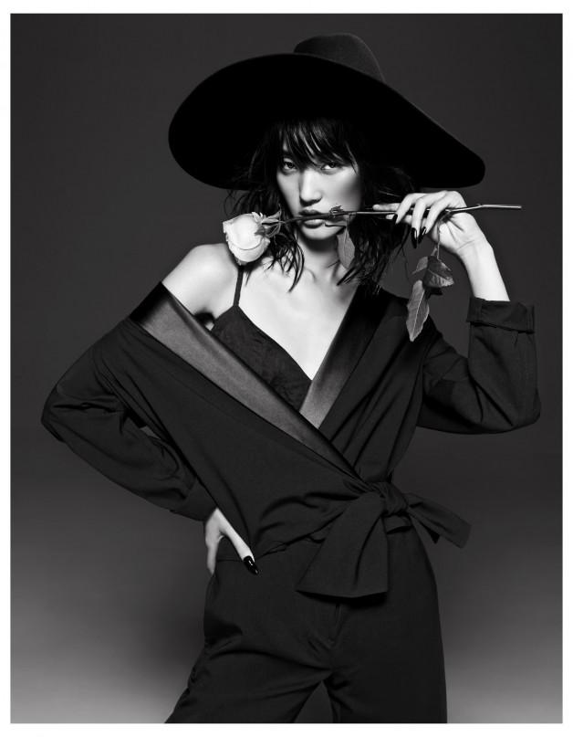 Lina Zhang by Yin Chao (The Gentle Woman - Harper's Bazaar China April 2013) 6