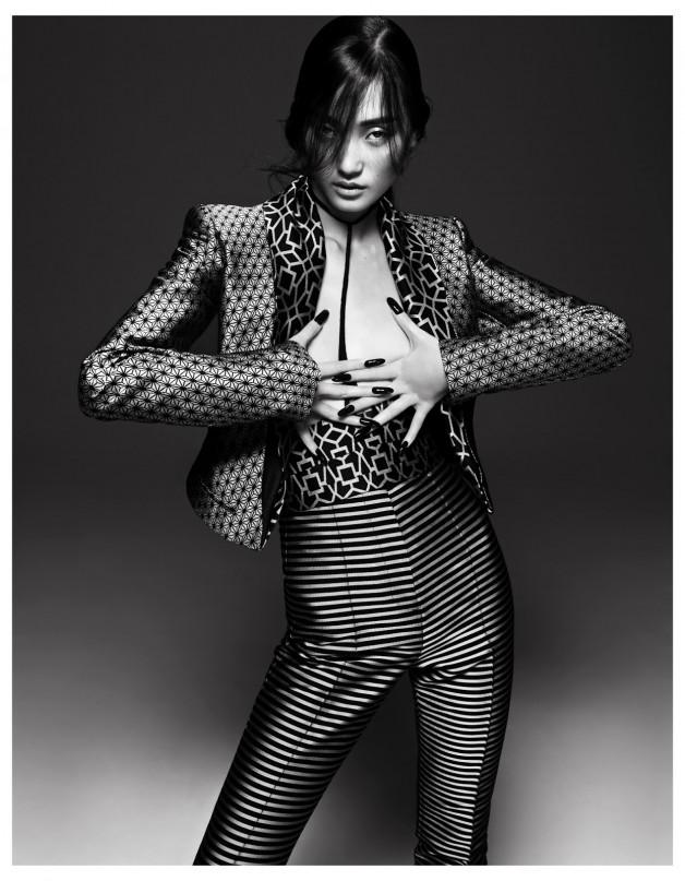Lina Zhang by Yin Chao (The Gentle Woman - Harper's Bazaar China April 2013) 7