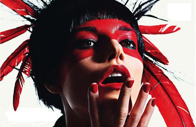Mario Sorrenti Esprit Tribal Vogue Paris 1