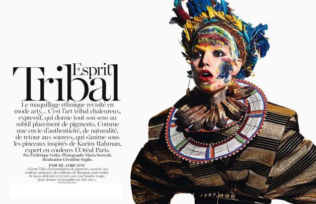 Mario Sorrenti Esprit Tribal Vogue Paris