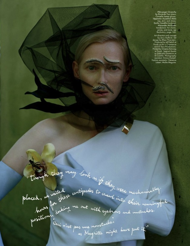 Tilda Swinton W Magazine 18