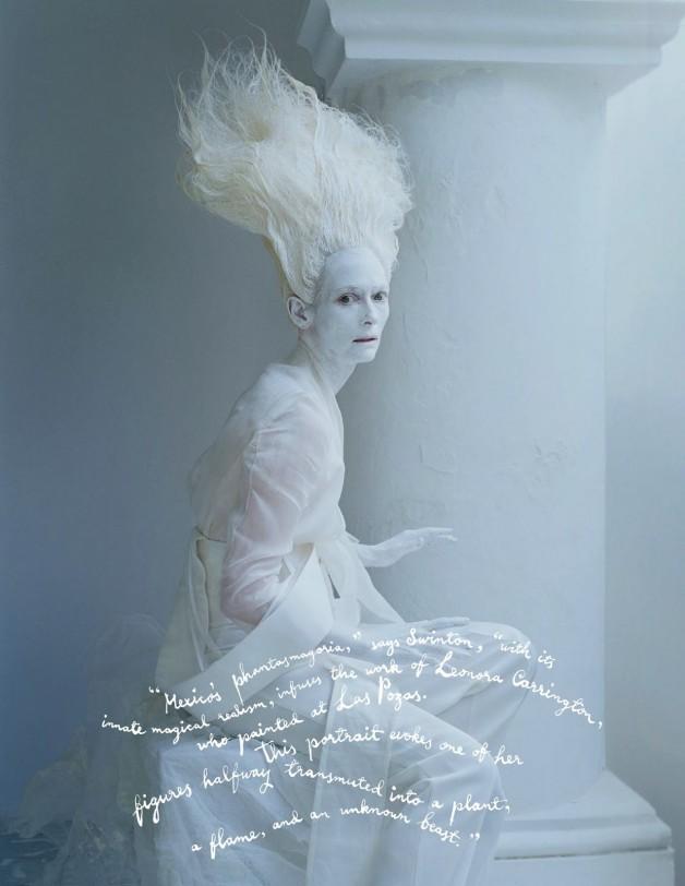 Tilda Swinton W Magazine 7