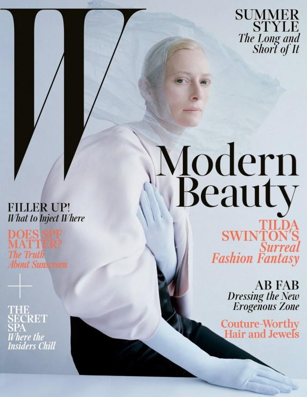 Tilda Swinton W Magazine Cover