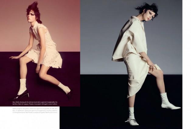 edie-campbell Vogue Italia 1