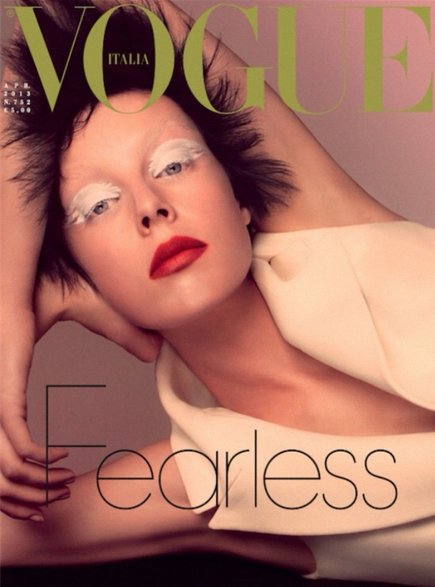 edit campbell vogue italia cover