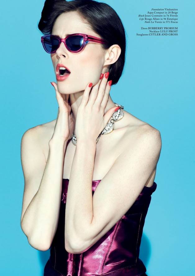 Coco Rocha by Jason Hetherington (Beneath The Make-up - Glass #13 Spring 2013) 5 (1)