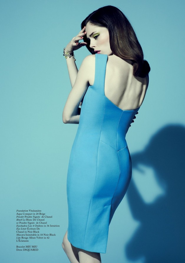 Coco Rocha by Jason Hetherington (Beneath The Make-up - Glass #13 Spring 2013) 6