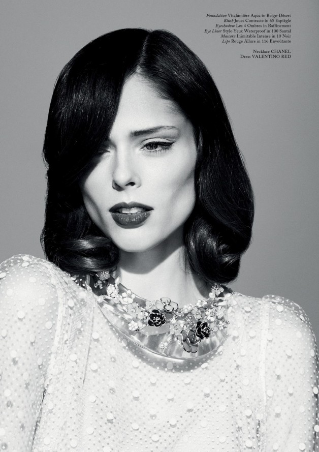 Coco Rocha by Jason Hetherington (Beneath The Make-up - Glass #13 Spring 2013) 7
