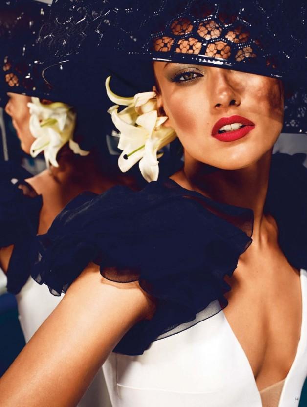Karmen Pedaru High Glam by Alexi Lubomirski  11