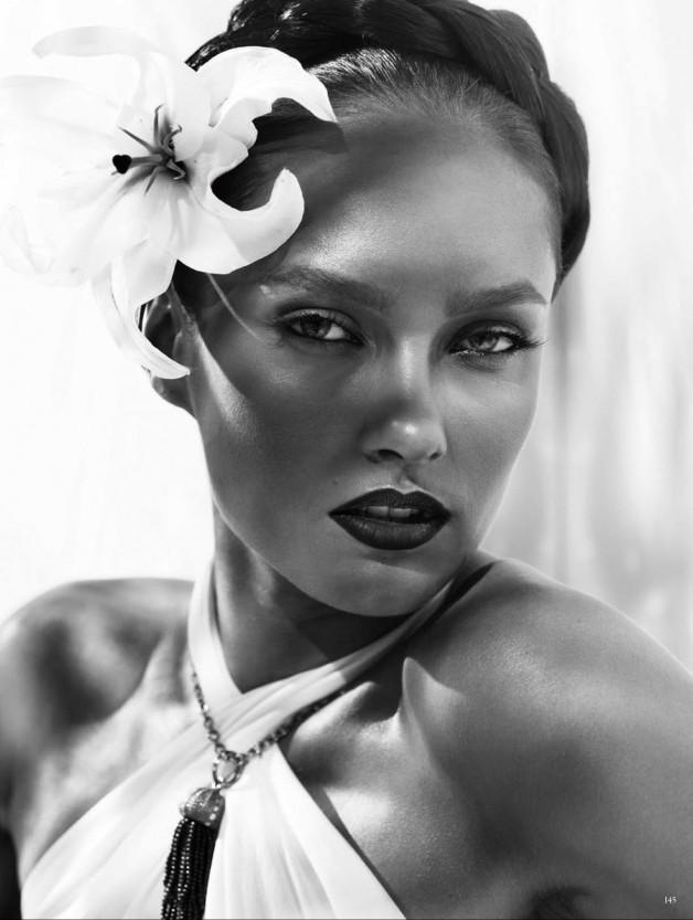 Karmen Pedaru High Glam by Alexi Lubomirski  15
