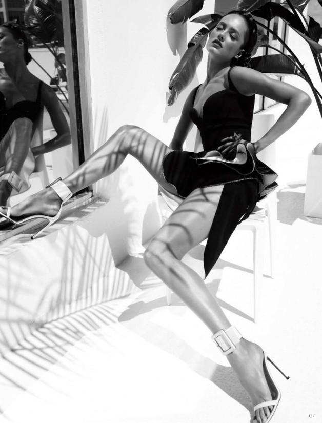 Karmen Pedaru High Glam by Alexi Lubomirski  6