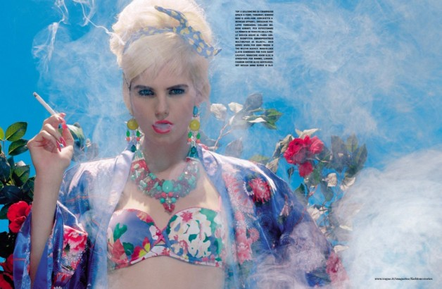 Miles Aldridge Chic BBQ Vogue Italia 3
