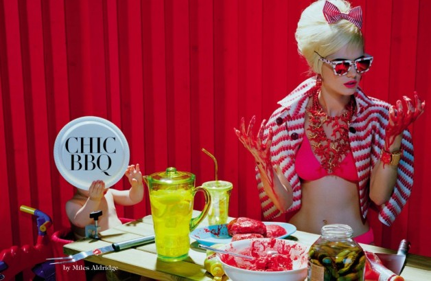 Miles Aldridge Chic BBQ Vogue Italia