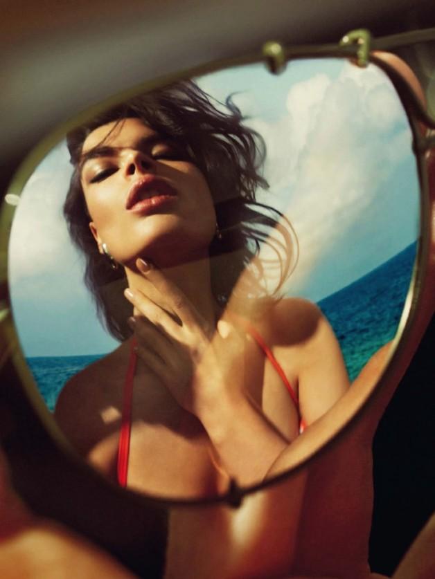 Crystal Renn by Nico Harpers Bazaar Spain 11
