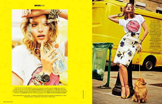ESTHER HAASE FOR MADAME FIGARO FRANCE 1
