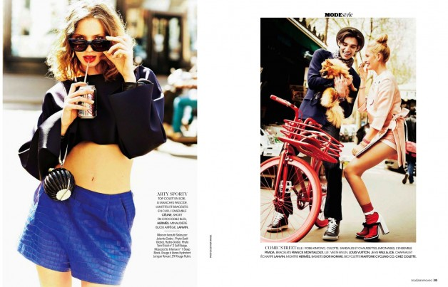 ESTHER HAASE FOR MADAME FIGARO FRANCE 2