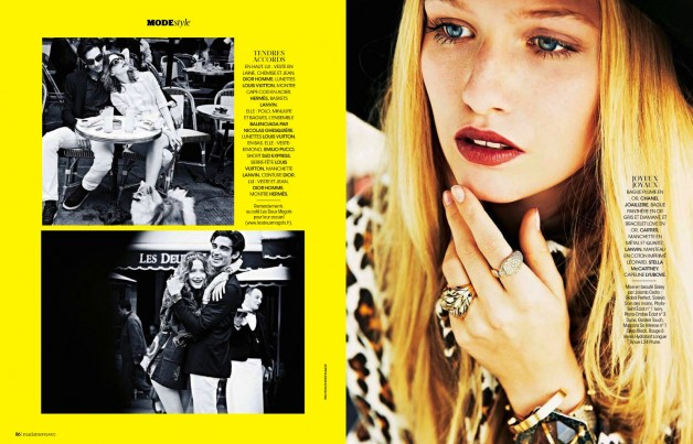 ESTHER HAASE FOR MADAME FIGARO FRANCE 3