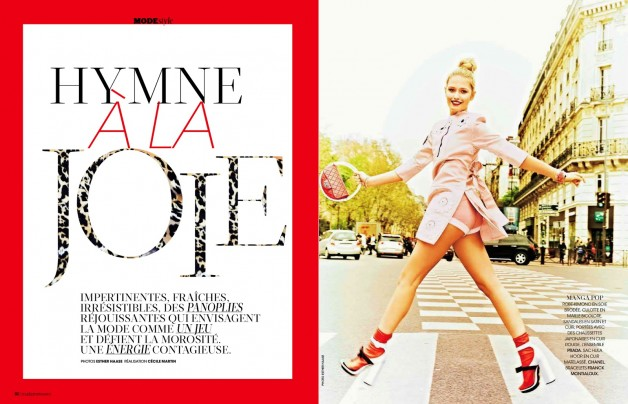 ESTHER HAASE FOR MADAME FIGARO FRANCE